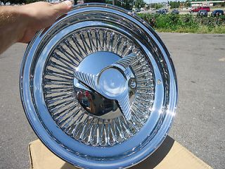 15 Chrome Dayton wire wheels 15 x 7 inch 80 spoke direct bolt on rims