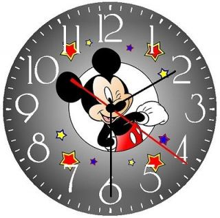 mickey mouse wall clock new  9 49