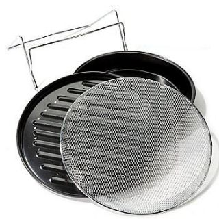Accessories for Trinity 12QT 1200W Tri Wave Oven w 5QT Extender ring