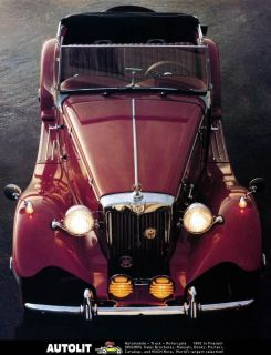 1952 1980 mg td mgtd duchess kit car factory photo
