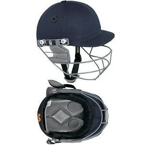 ca gold cricket helmet navy blue batting protection time left
