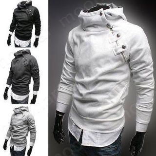 Fashion Winter Mens Warm Thicked Hoodie Hoody Jackets Coat Outwear