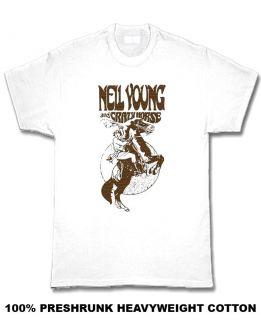 neil young crazy horse rock t shirt