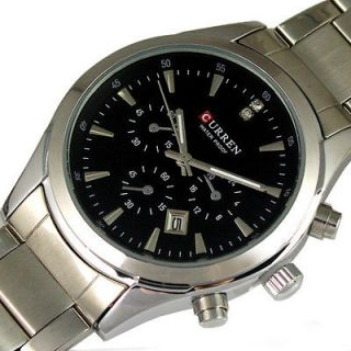 Newly listed Best DIAL WATER QUARTZ HOURS DATE SILVER HAND SPORT MEN
