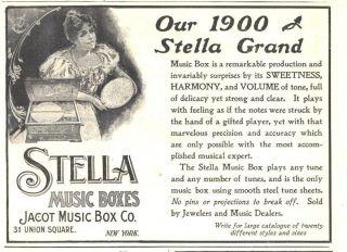 1900 f ad stella music boxes grand