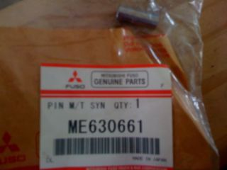 mitsubishi fuso me630661 shifting pin m t synch hub time