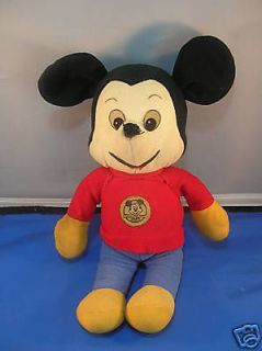 vintage plush mickey mouse club doll  49