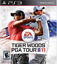 Tiger Woods PGA Tour 11 Sony Playstation 3, 2010