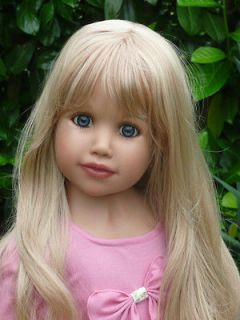 New * Natasha * Monika Peter Leicht Masterpiece Doll 35 Blonde Hair