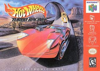 Hot Wheels Turbo Racing Nintendo 64, 1999