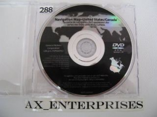 Cadillac Escalade EXT ESV Navigation DVD 7.3 # 691 Update Map @ 9/2008