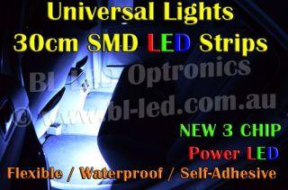 Universal 30cm SMD High Power LED Strip for Car Boat Bike DRL Fog