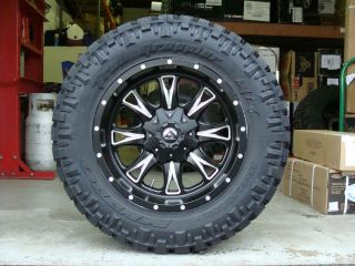 Off Road Throttle Black Nitto Trail Grappler 35x12.50R20 35 Mud tires