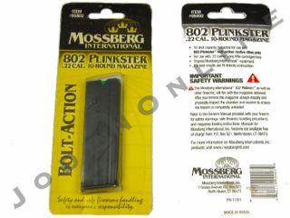 Mossberg Intl 801 802 803 Plinkster Half Pint 22 Long Rifle 10 Round