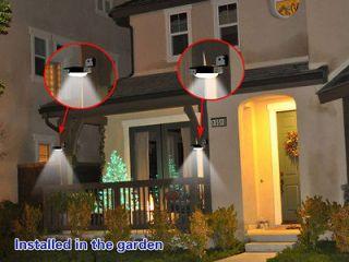 Waterproof 16LED Solar Power Motion Sensor Detector Outdoor Wall Light