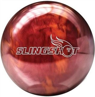 Brunswick Slingshot Red/Orange 15 lbs Bowling Ball New in Box