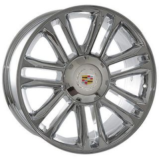 20 inch cadillac 2009 escalade platinum chrome wheels rims