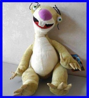 Sloth Ice Age Continental Drift Plush Animal Doll Toy 12 (30cm) rare