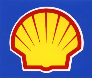 shell mazda toyota gas oil car racing sticker decal from