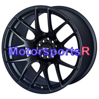Flat Black Concave Rims Staggered Wheels Stance 90 96 Nissan 300zx TT
