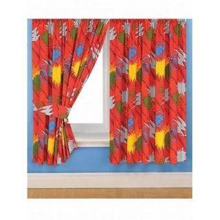 free pnp boys power rangers curtains set tiebacks more options