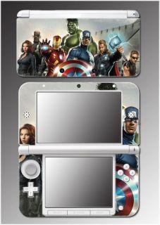 Avengers Captain America Shield Thor Video Game Skin Cover 7 Nintendo