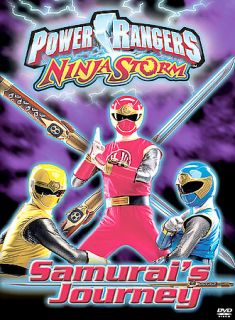 Power Rangers   Ninja Storm Samurais Journey DVD, 2003