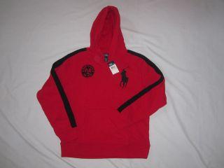 Polo Ralph Lauren kids boys youth sweatshirt shirt hoody new red