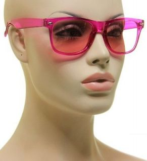 pink lens sunglasses in Clothing,