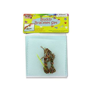 NEW Wholesale Case Lot 48 Buddy Bracelet Craft Kits Variety Store Deal