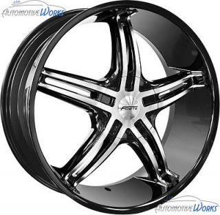 Black Mirror Wheels Rims 20 (Fits 2011 Jeep Grand Cherokee Overland