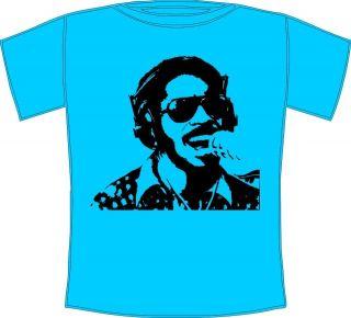 Stevie Wonder Cool Retro Soul T shirt Sizes Small to XXXL