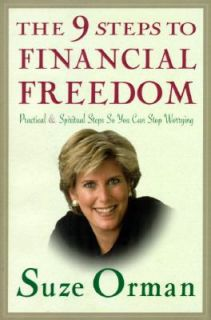 Steps So You Can Stop Worrying by Suze Orman 1997, Hardcover