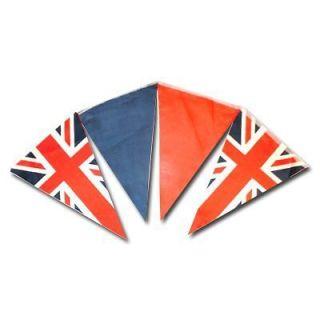 union jack triangular bunting 20ft from united kingdom  4
