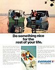 evinrude outboard motor 2 boats vintage 1973 ad buy it