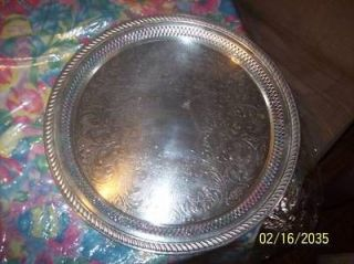 vintage fb rogers silver company 15 silver tray 1883 time