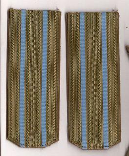 Russian Soviet Military Dress Uniform Shoulder Boards rank insignia