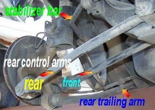 PACIFICA DRIVER SIDE LOWER CONTROL ARM FRONT (Fits Chrysler Pacifica