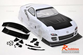 RC 1 10 Scale on Road Drift Car Painted PVC Body Shell 190mm Body
