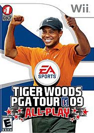 Tiger Woods PGA Tour 09 All Play Wii, 2008