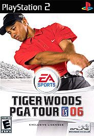 Tiger Woods PGA Tour 06 Sony PlayStation 2, 2005