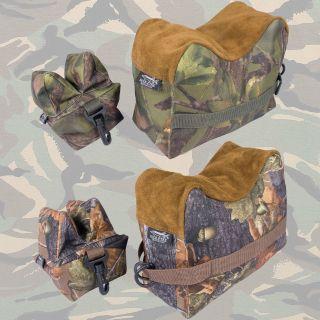 Rifle Bench Rest Bag Set, Shooting, Hunting, Stalking, Sand Bag Jack