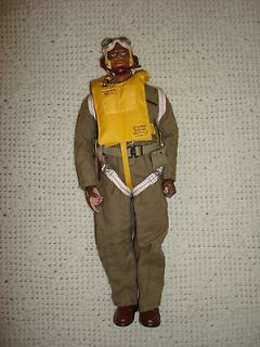 Custom Tuskegee Airman Pilot 12 Figure 1/6 DML GI Joe Red Tails