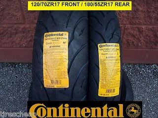 SUZUKI GSXR750 TWO CONTINENTAL SPORT TOURING RADIAL MOTORCYCLE TIRE