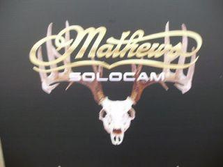 Mathews european mount picture bowhunter decal die cut 16 x 13