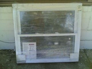 BRAND NEW Nice White VINYL Home House DOUBLE HUNG WINDOW 40x36