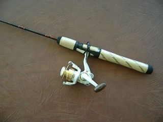 Rod & Reel Combo   Pflueger Microspin UL  EXCELLENT CRAPPIE JIG ROD