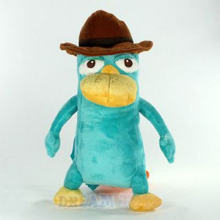 Phineas and Ferb Agent P Plush Backpack   Perry the Platypus