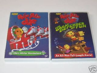 rolie polie olie 2 dvds new olie s winter wonderland