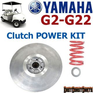 Yamaha Golf Cart G2 G22 Driven Clutch High Torque Power Kit (Free